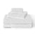 Brielle Home Jacquard Towel Set White