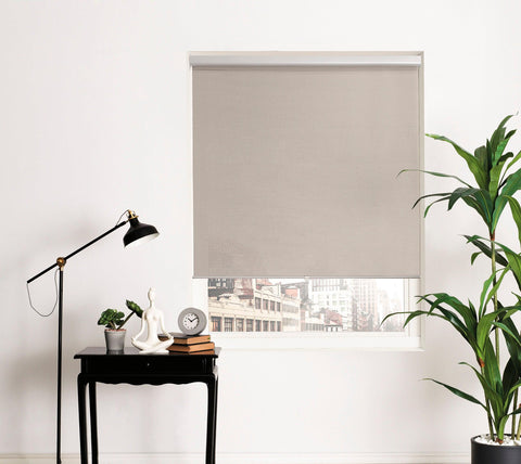 Brielle Home Open Weave Cordless Roller Shade