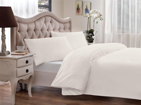 Brielle Home Modal Percale Duvet Cover White