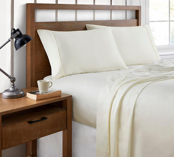 Brielle Home 400 Thread Count Ultra Fine Cotton Sateen Sheets