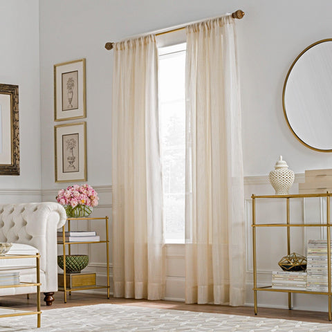 Valeron® Belvedere Sheer Window Curtain Panel