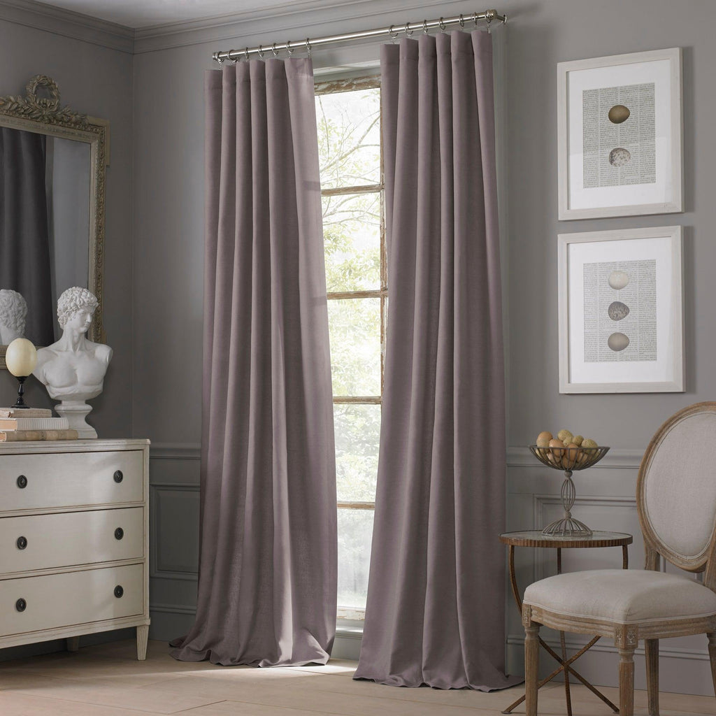 Valeron® Estate Cotton Linen Window Panel