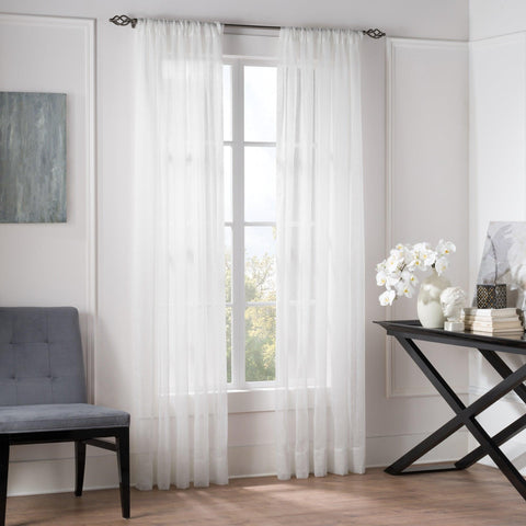 Valeron® Natural Linen Blended Sheer