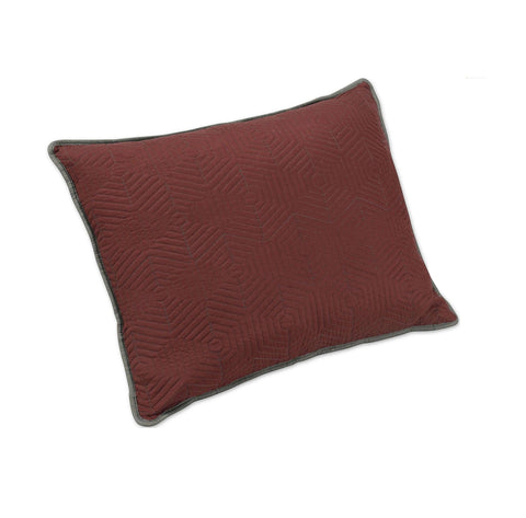 Brielle Honeycomb Pillow Sham Set