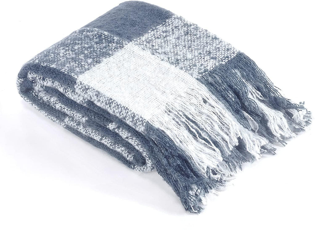 Brielle Home Faux Mohair Throws