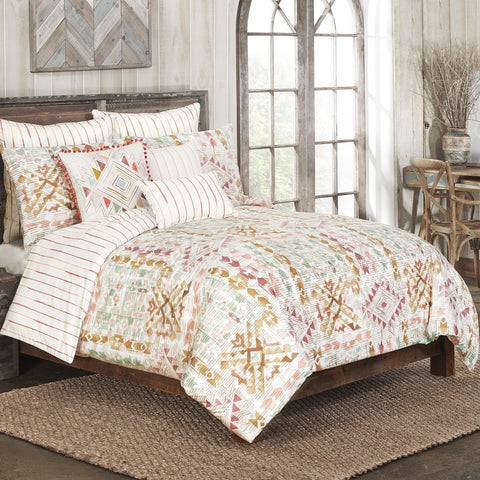 Brielle Home Rio Grande 100% Cotton Duvet Set