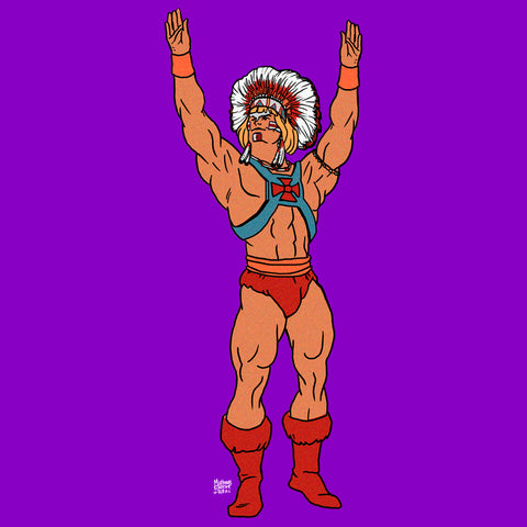 "HE-MAN IS THE ""Y"""