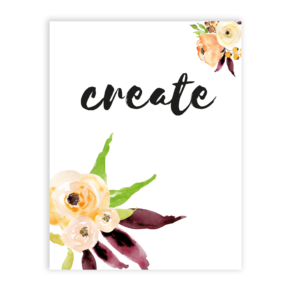 Inspirational pictures - mindful collection - create