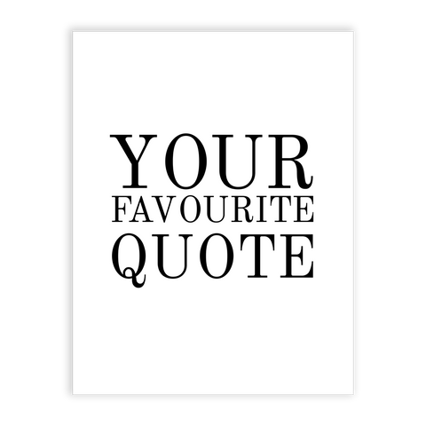 print the best quotes