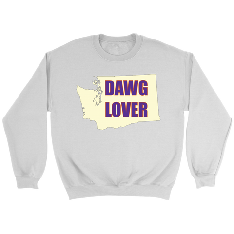 Crewneck Sweatshirt - Washington Dawg Lover