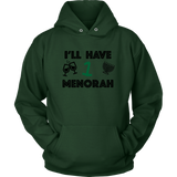 Holiday Sweater - I'll Have One Menorah (crewneck sweatshirt)