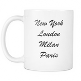 Coffee Mug - Fashion Weeks