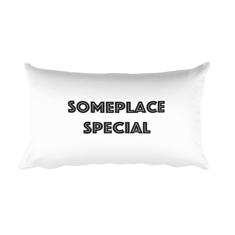 Throw Pillow - Someplace Special