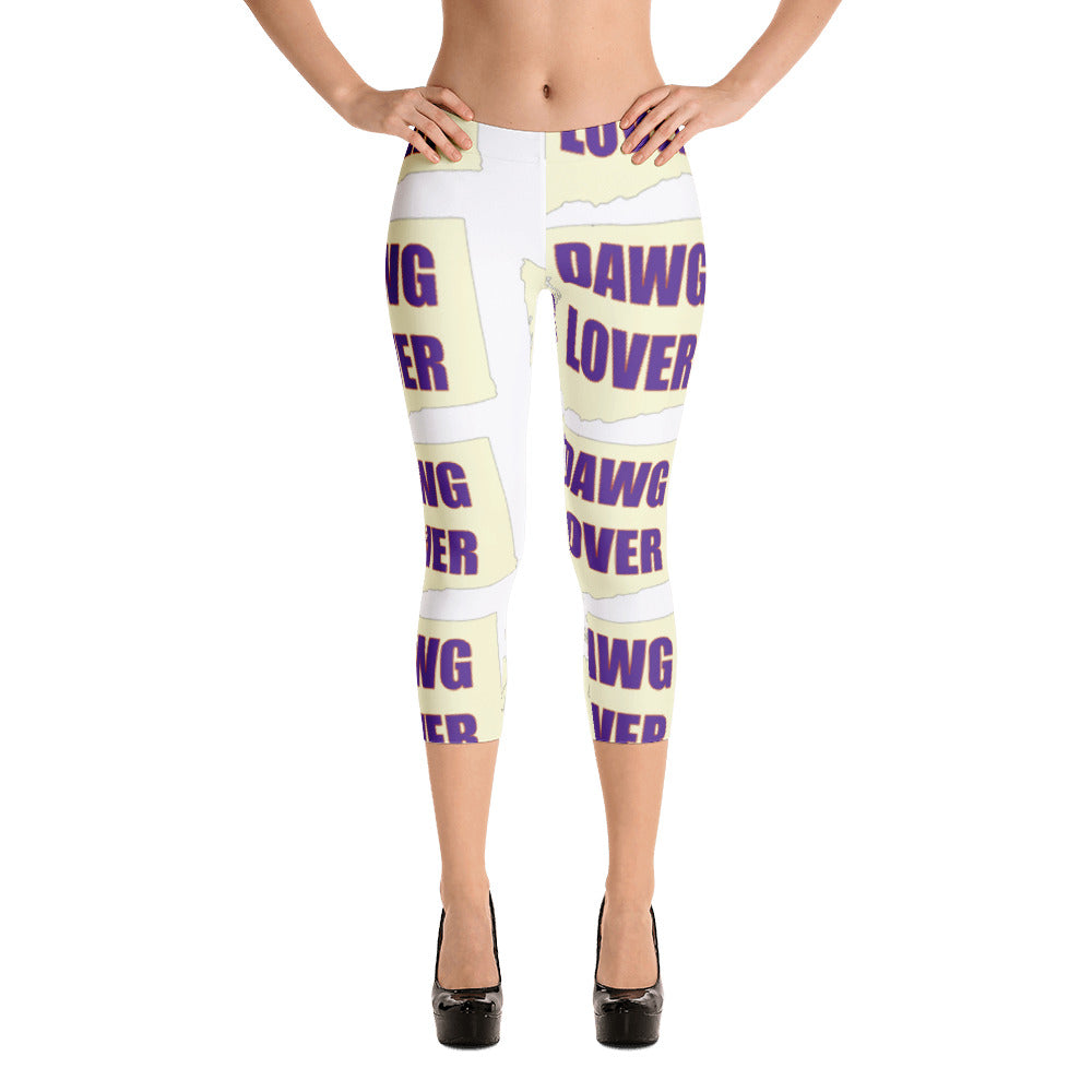Capri Leggings - Washington Dawg Lover