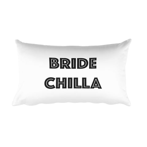 Throw Pillow - Bride Chilla