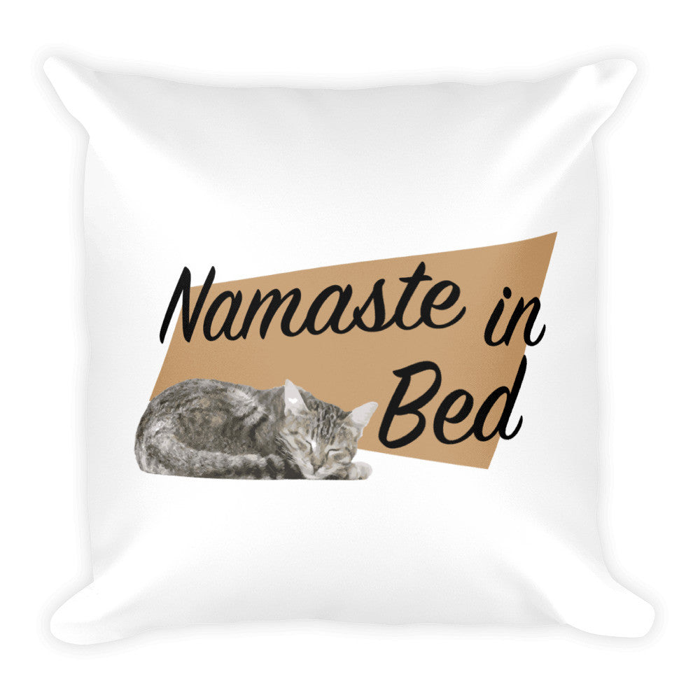 Pillow - Namaste in Bed