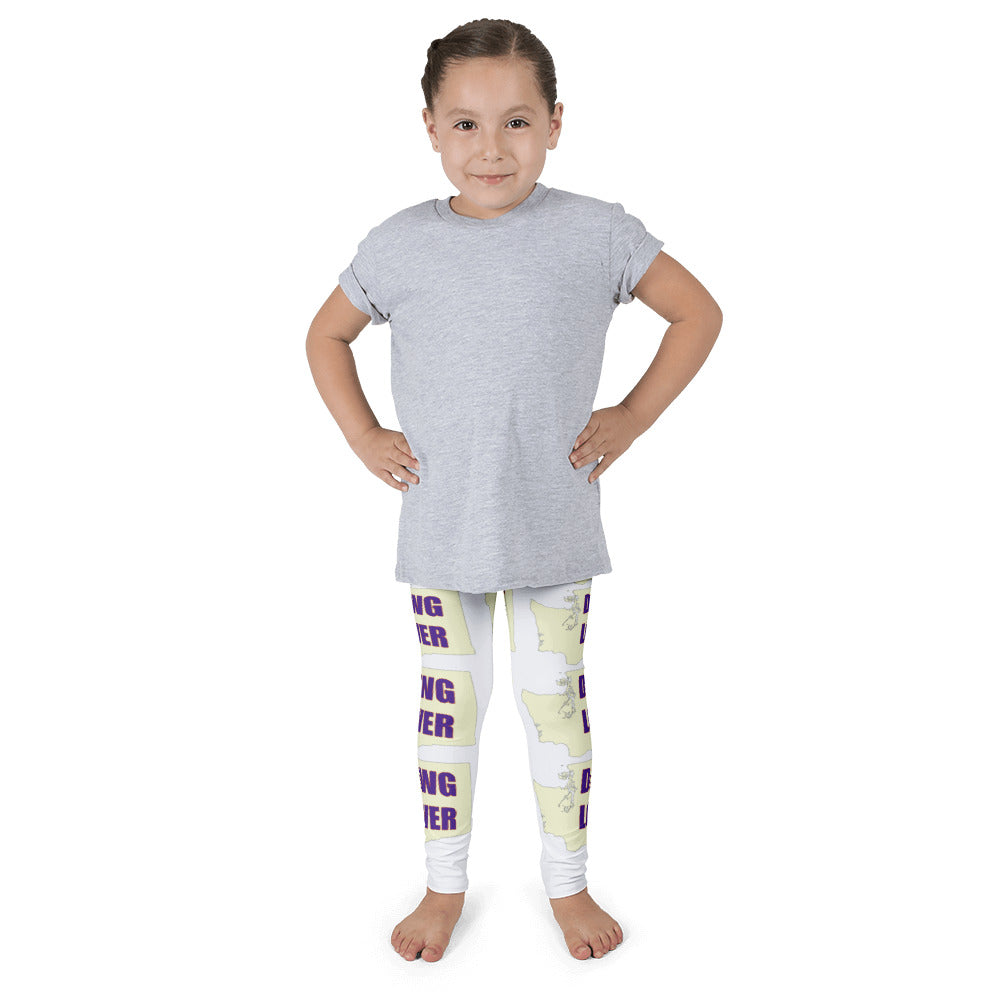 Kid's Leggings - Washington Dawg Lover