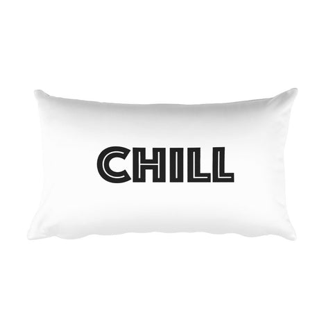 Throw Pillow - Chill