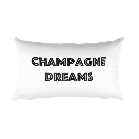 Throw Pillow - Champagne Dreams