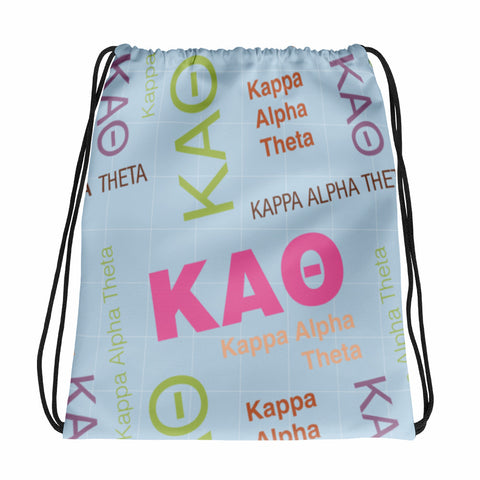 Drawstring Bag - Kappa Alpha Theta