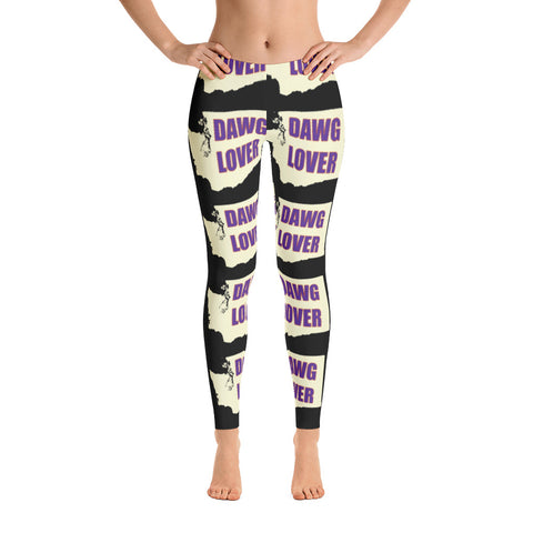 Leggings - Washington Dawg Lover (black)