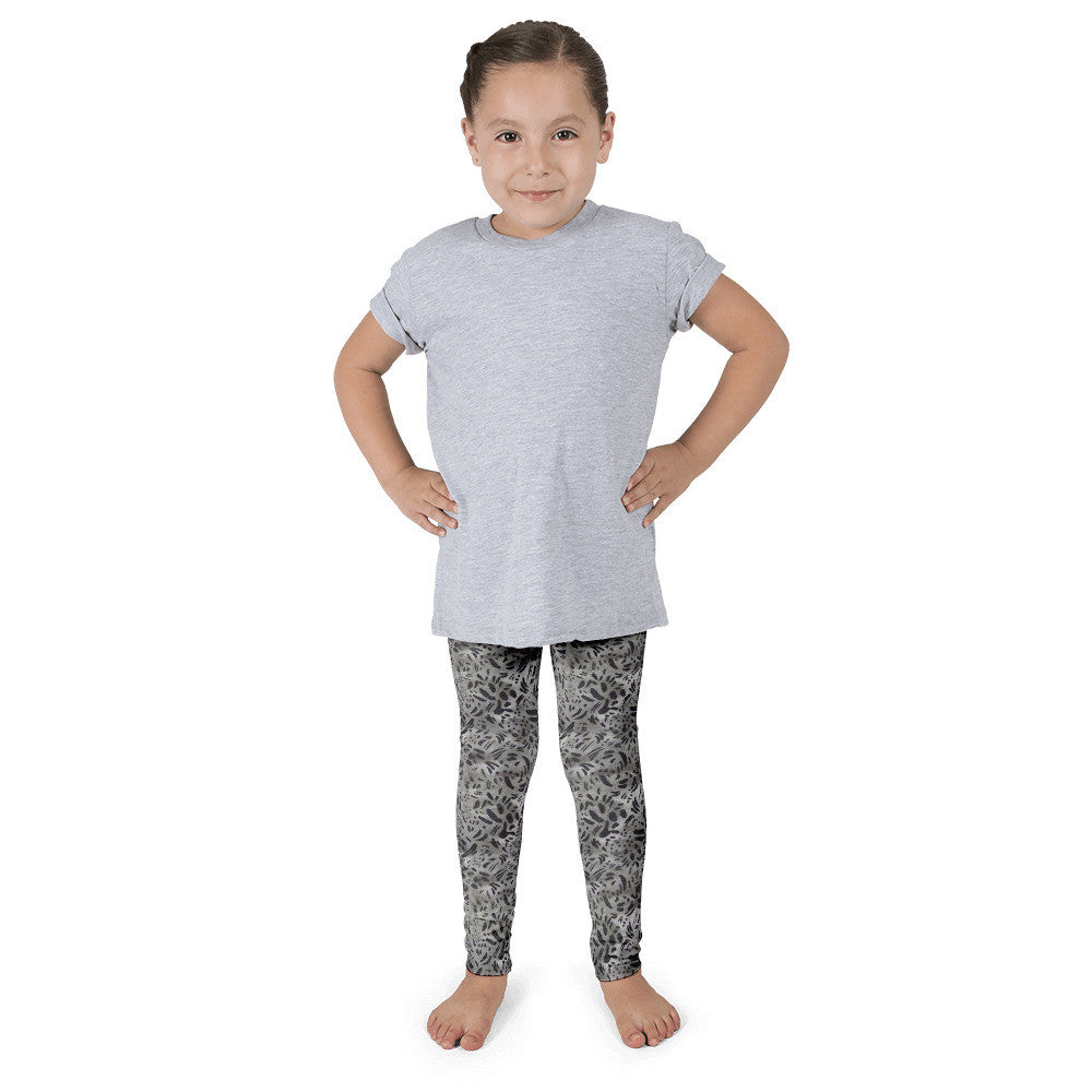 Kid's Leggings - Charcoal