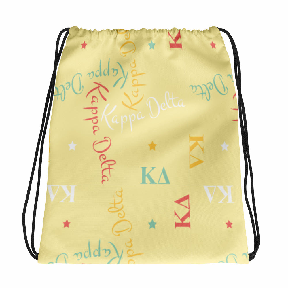 Drawstring Bag - Kappa Delta