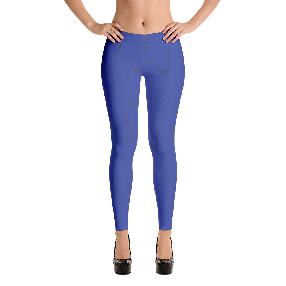Leggings - Mississippi (blue)