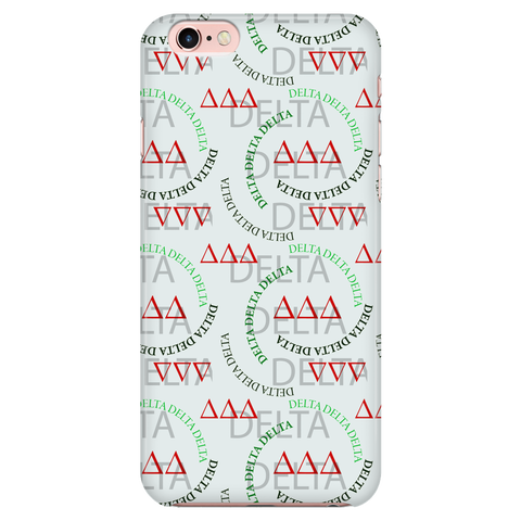 iPhone Cover / Case - Delta Delta Delta