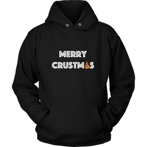 Holiday Hoodie - Merry Crustmas