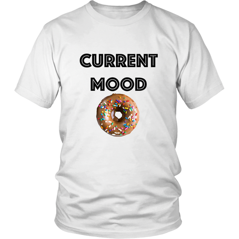 T-Shirt - Current Mood (donut)