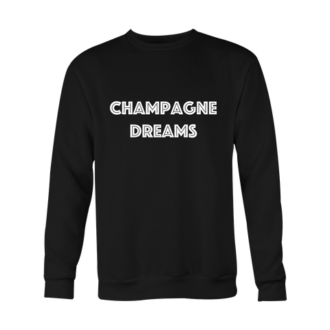 Crewneck Sweatshirt - Champagne Dreams