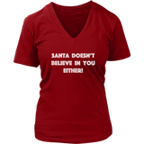 Holiday Hoodie - Santa Doesn't Believe In You Either