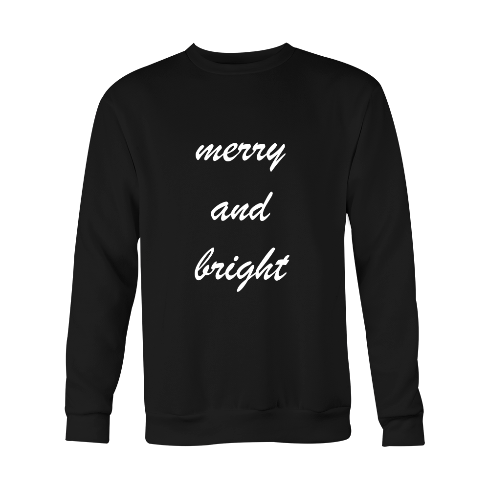 Holiday Sweatshirt - Merry And Bright