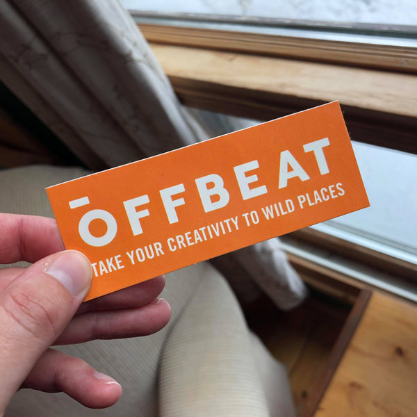 OFFBEAT Stickers (Pack of 5)