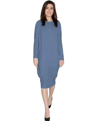 Women's Original Basic Comfy Cover-Up Midi Dress
