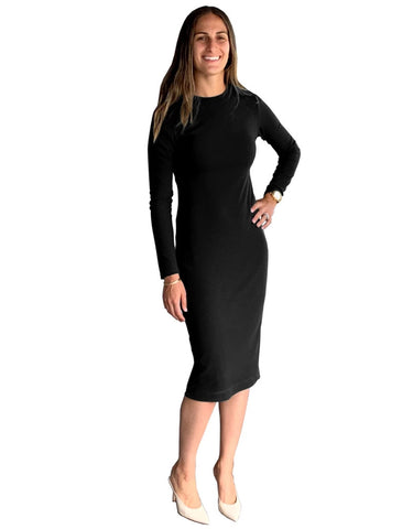 Baby'O Women's Rib Knit Layering Shell Dress