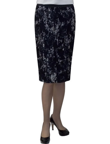 Women's Stretch Lace Pencil Skirt