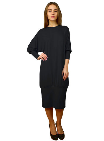 Women's Banded Bottom Comfy Dress