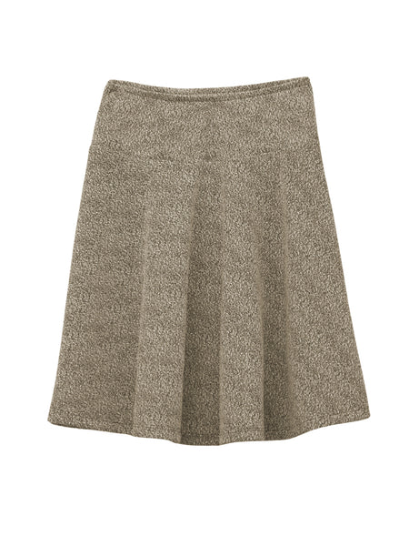 Kids Girl's Boucle Knit knee length Skirt 4 to 18 Years Old