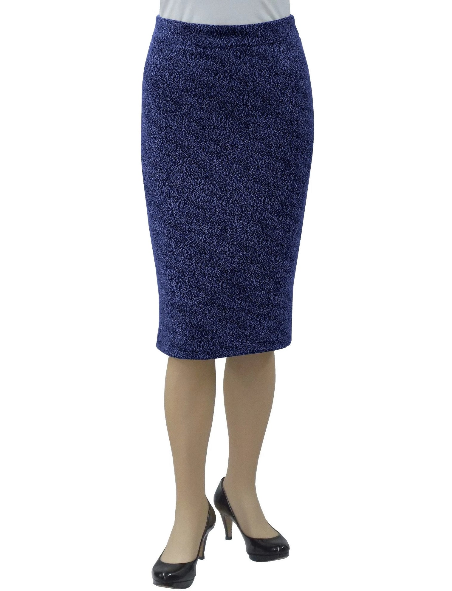 Women's Tapered Boucle Knit Pencil Skirt