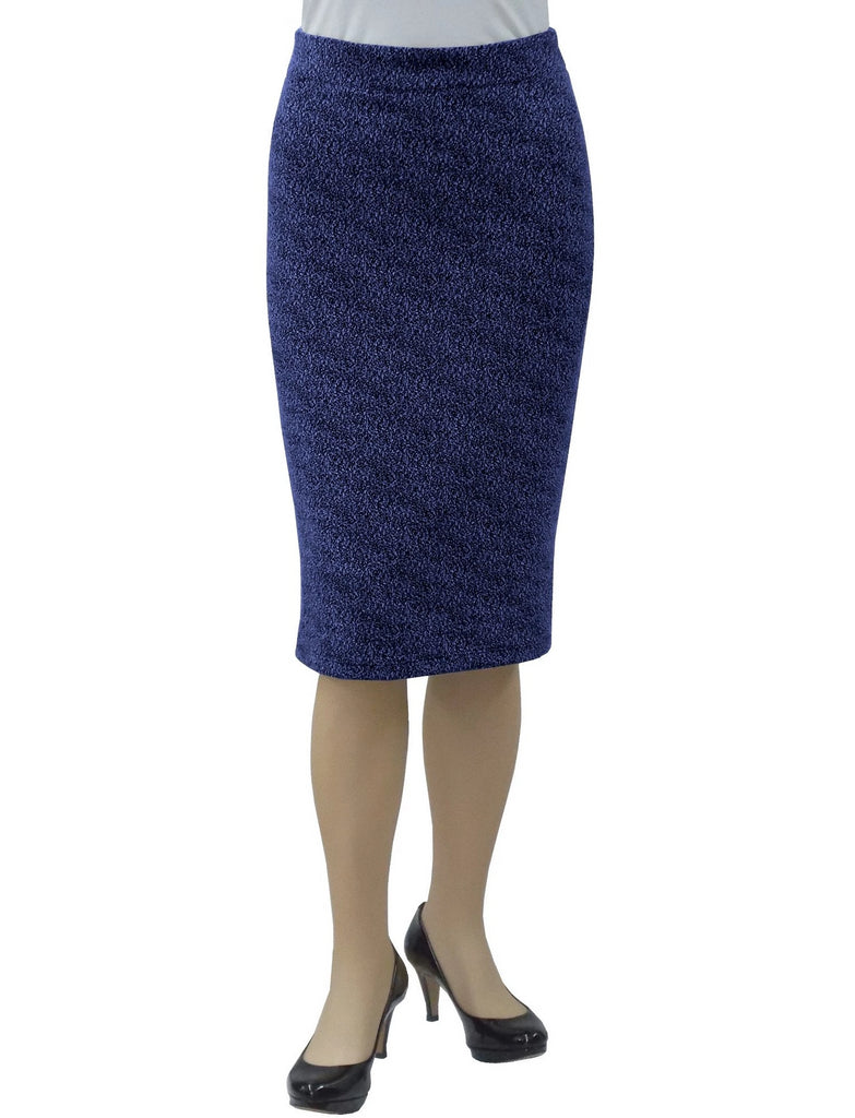 6cf88149019be3 Women's Tapered Boucle Knit Pencil Skirt – Baby'O Clothing Co.