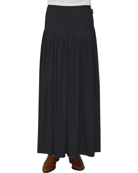 Women's BIZ Long Winter Weight Cotton Twill Skirt