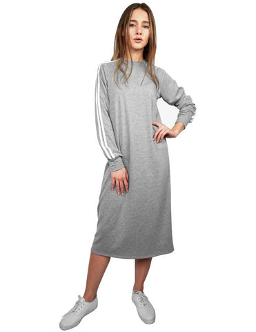 Women's Athletic Look T-Shirt Style Dress