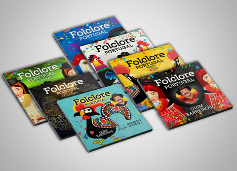 Folclore Portugal - Pack 7 Cd's - 2018