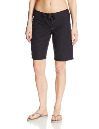 Rip Curl Swimwear Womens Black Love N Surf 11 Inch Board Short Size 5 - Designer-Find Warehouse - 1