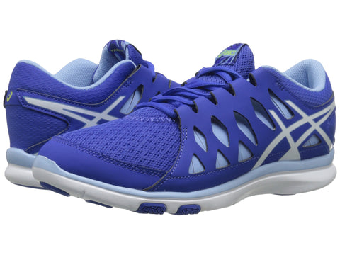 ASICS GEL-Fit Tempo Blue Mesh Athletic Running Training Shoes Size 9 - Designer-Find Warehouse - 1