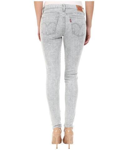 Levi's 710 0060 Womens Frosted Cobalt Super Skinny Jean Size 00 / 24 X 30 - Designer-Find Warehouse - 1