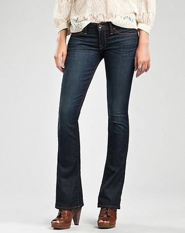 Lucky Brand 7WD1532 Charlie Baby Boot Cut Denim Jeans Size 4 - Designer-Find Warehouse
