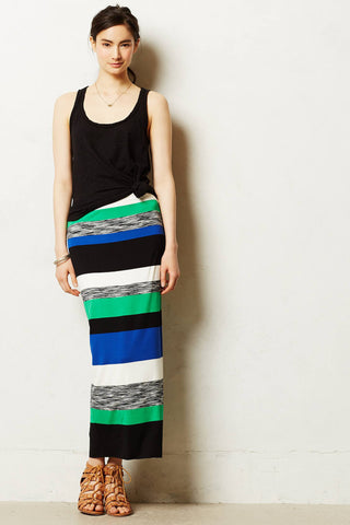 Anthropologie Color Theory Maxi Skirt By Bailey 44 Size Petite Small - Designer-Find Warehouse - 1